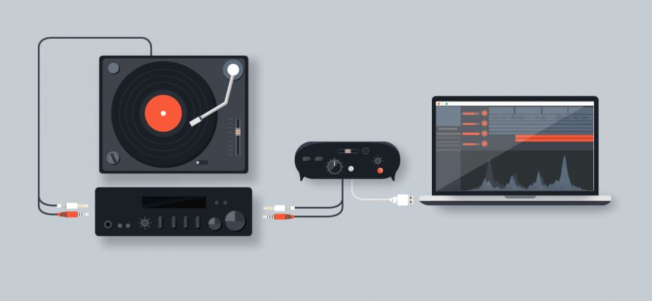 How to Connect A Turntable To A Pc