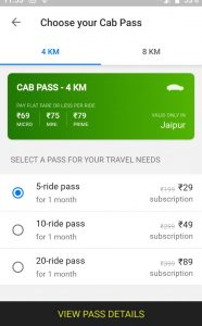 What is 5 ride Ola Pass Service & How to it