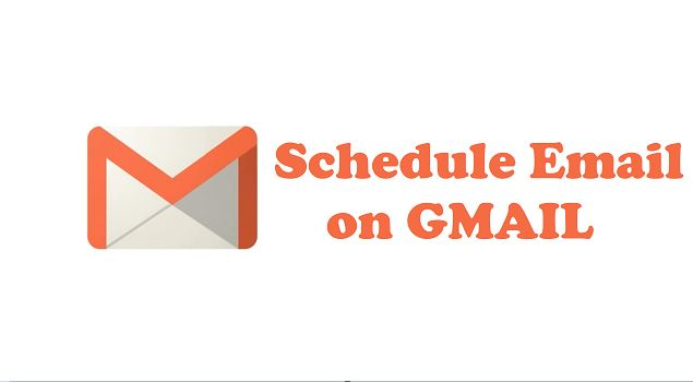 how to send schedule email on gmail