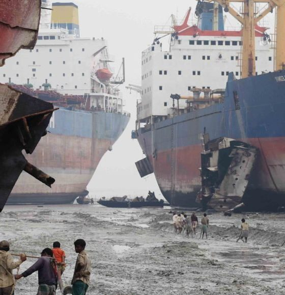 What are Ship Scrap Yards And What is Ship Breaking